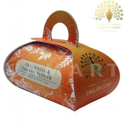The English Soap Company Luxury Gift Patchouli & Orange Flower Луксозен сапун 260g