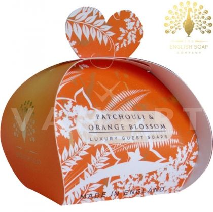 The English Soap Company Luxury Gift Patchouli & Orange Flower Луксозен сапун 3 x 20g