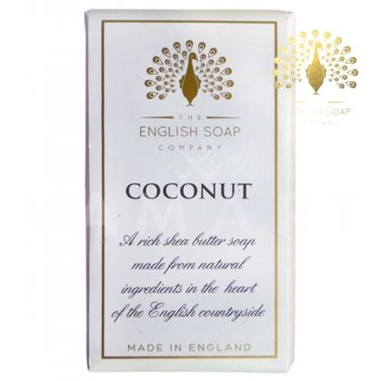 The English Soap Company Pure Coconut Луксозен растителен сапун 200g