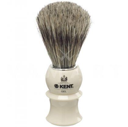 Kent. Shaving Brushes White socket Четка за бръснене бяла за гел