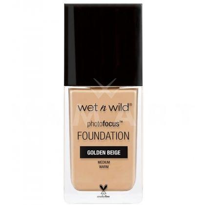 Wet n Wild Photo Focus Foundation Матиращ фон дьо тен 368 Golden Beige