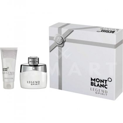 Mont Blanc Legend Spirit Eau de Toilette 50ml + After Shave Balm 100ml мъжки комплект