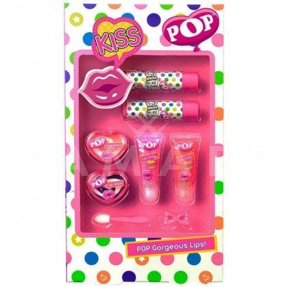 Markwins POP Gorgeous Lips! Детски козметичен комплект