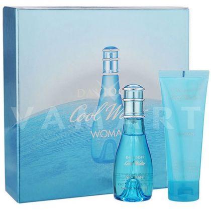 Davidoff Cool Water Woman Eau de Toilette 50ml + Body Lotion 75ml дамски комплект