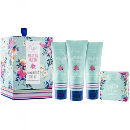 Scottish Fine Soaps Meadow Bloom Козметичен комплект за тяло 4 продукта