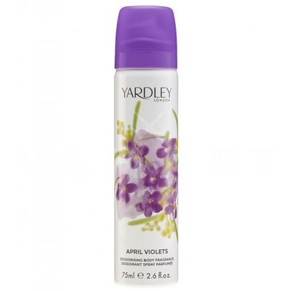 Yardley London April Violets Deodorant Spray 75ml дамски