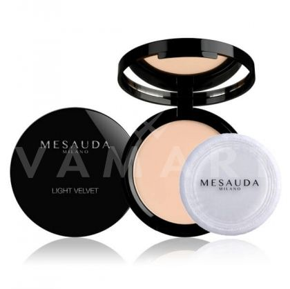 Mesauda Milano Light Velvet Compact Powder Матираща компактна пудра 101 Naturelle