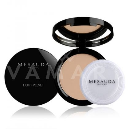 Mesauda Milano Light Velvet Compact Powder Матираща компактна пудра 103 Brun