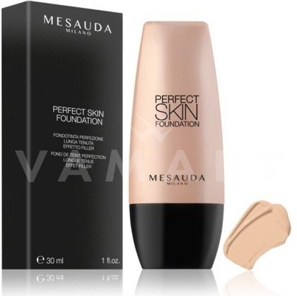 Mesauda Milano Perfect Skin Long Lasting Fluid Foundation Дълготраен фон дьо тен 101 Porcelain