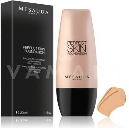 Mesauda Milano Perfect Skin Long Lasting Fluid Foundation Дълготраен фон дьо тен 102 Ivory