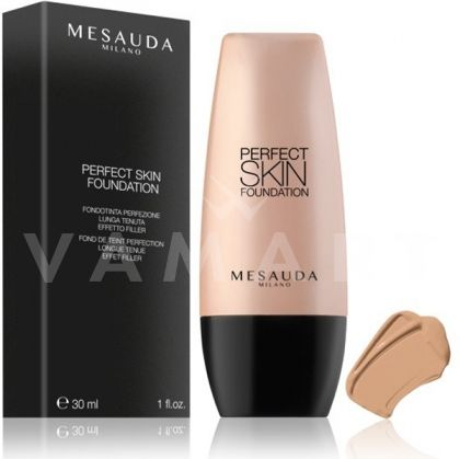 Mesauda Milano Perfect Skin Long Lasting Fluid Foundation Дълготраен фон дьо тен 105 Beige