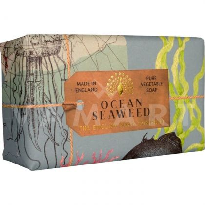 The English Soap Company Anniversary Collection Ocean Seaweed Луксозен растителен сапун 200g