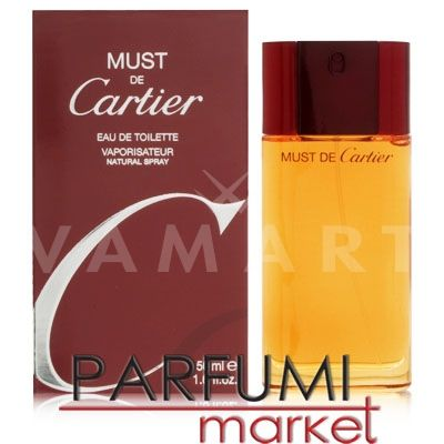 Cartier Must de Cartier Eau de Toilette 100ml дамски без кутия