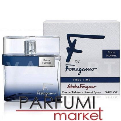Salvatore Ferragamo F by Ferragamo Free Time Eau de Toilettе 50ml мъжки