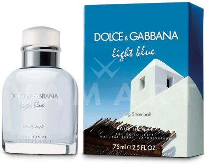 Dolce & Gabbana Light Blue Living Stromboli Eau de Toilette 125ml мъжки без кутия