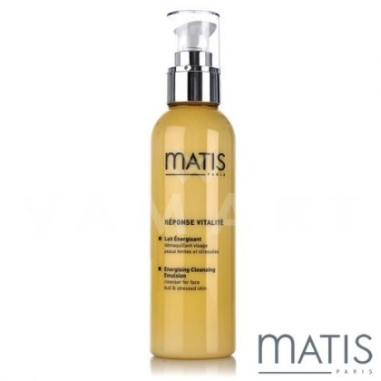 Matis Reponse Vitalite Energising Cleansing Emulsion 200ml Енергизиращо мляко за всеки тип кожа