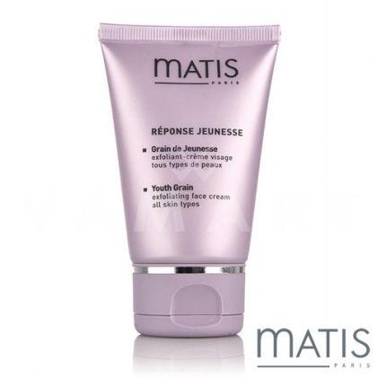 Matis Reponse Jeunesse Youth Grain Peeling Cream 50ml Скраб с орхидея за всеки тип кожа