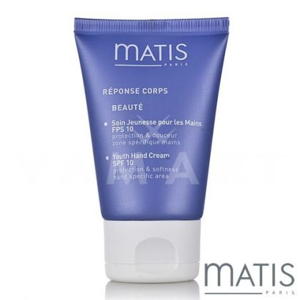 Matis Reponse Corps Youth Hand Cream SPF10 50ml Крем за ръце против петна