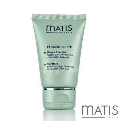Matis Reponse Purete Clay Mask 50ml Маска за мазна и смесена кожа с жълта глина
