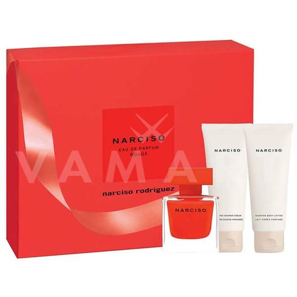 fb123ddddb7 Narciso Rodriguez Narciso Rouge Eau de Parfum 50ml + Body Lotion 75ml +  Shower Gel 75ml дамски комплект