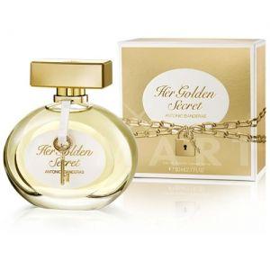 Antonio Banderas Her Golden Secret Eau de Toilette 80ml дамски без кутия