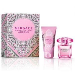 Versace Bright Crystal Absolu Eau de Parfum 30ml + Body Lotion 50ml дамски комплект