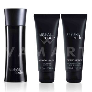 Armani Code Pour Homme Eau de Toilette 75ml + Shower Gel 75ml +  After shave Balm 75ml мъжки комплект