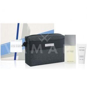 Issey Miyake L'Eau d'Issey Pour Homme Eau de Toilette 75ml + Shower Gel 50ml + Несесер мъжки комплект