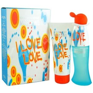 Moschino Cheap and Chic I Love Love Eau de Toilette 30ml + Body Lotion 50ml дамски комплект
