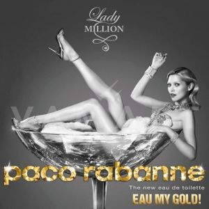 Paco Rabanne Lady Million Eau My Gold Eau de Toilette 80ml дамски