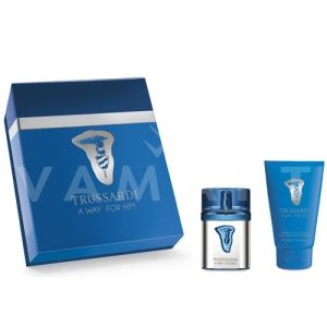 Trussardi A Way for Him Eau de Toilette 50ml + Shampoo & Shower Gel 100ml мъжки комплект
