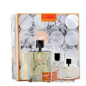 Hermes Terre d'Hermes Eau de Parfum 75ml + After Shave Balm 40ml + Eau de Parfum 12,5ml мъжки комплект