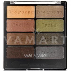 Wet n Wild Сенки за очи палитра 8 цвята Color Icon 738 Comfort Zone