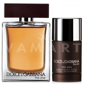 Dolce & Gabbana The One for Men Eau de Toilette 100ml + Deodorant Stick 75ml мъжки комплект