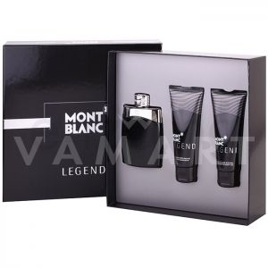 Mont Blanc Legend Eau de Toilette 100ml + Shower Gel 100ml + After Shave Balm 100ml  мъжки комплект