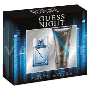 Guess Night Eau de Toilette 50ml + Shower Gel 200ml мъжки комплект