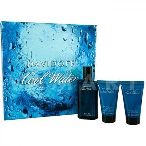 Davidoff Cool Water Men Eau de Toilette 75ml + Shower Gel 50ml + After Shave Balm 50ml мъжки комплект