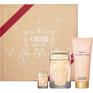 Cartier La Panthere Eau de Parfum 75ml + Body Lotion 100ml + Eau de Parfum 6ml дамски комплект