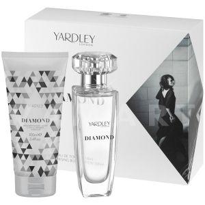 Yardley London Diamond Eau de Toilette 50ml + Body Lotion 100ml дамски комплект