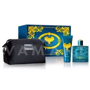 Versace Eros Eau De Toilette 100ml + Shower gel 100ml + Несесер  мъжки комплект