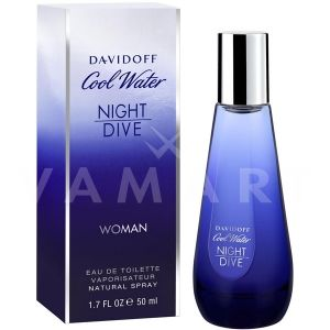 Davidoff Cool Water Night Dive Woman Eau de Toilette 80ml дамски без опаковка