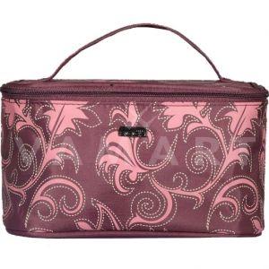 Reed Розови Листа Козметично куфарче с огледало