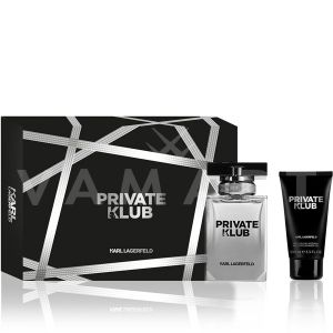 Karl Lagerfeld Private Klub for Men Eau de Toilette 50ml + Shower Gel 100ml мъжки комплект