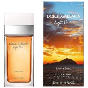 Dolce & Gabbana Light Blue Sunset in Salina Eau de Toilette 100ml дамски без опаковка