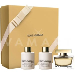 Dolce & Gabbana The One Eau de Parfum 75ml + Body Lotion 100ml + Shower Gel 100ml  дамски комплект