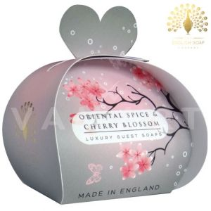The English Soap Company Luxury Gift Oriental Spice & Cherry Blossom Луксозен сапун 3 x 20g