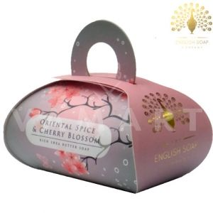 The English Soap Company Luxury Gift Oriental Spice & Cherry Blossom Луксозен сапун 260g