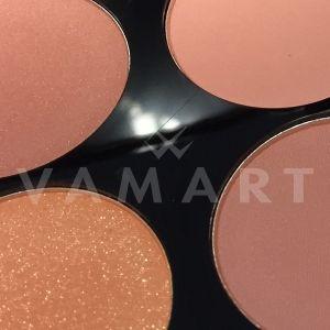 Makeup Revolution London Ultra Blush Palette Hot Spice Палитра ружове 8 цвята