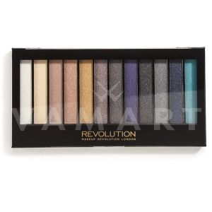 Makeup Revolution London Redemption Palette Essential Day To Night Палитра сенки 12 цвята