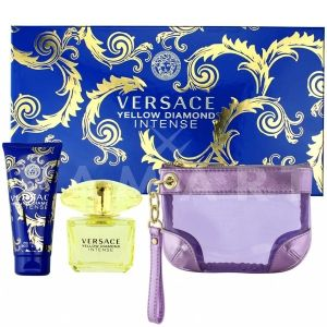 Versace Yellow Diamond Intense Eau de Parfum 90ml + Body Lotion 100ml + Несесер дамски комплект
